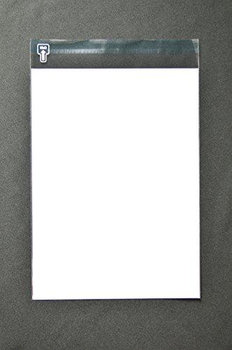 인쇄 된 OPP 투명 봉투 A4 【 500 개 】 OPP 40 μ (0.04 mm) 표: 백색 베타 우표필기 가능 정전기 방지 테이프 구부러진 가로 225 × 세로 305 + 뚜껑 40mm 인쇄 가능 / Printing OPP Transparent Envelope A4 [500 sheet