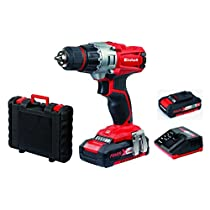 Einhell trapano avvitatore a batteria TE-CD 18/2 Li Kit Power X-Change