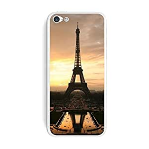 Generic Eiffel Tower at Sunset Protective Skin Sticker Durable Laser Technology Case for iPhone 6 (4.7 Inch Screen)