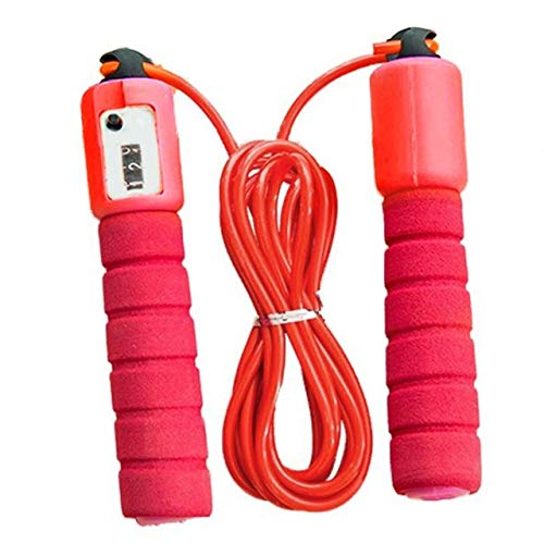 dfhfdh Jump Ropes with Counter Sports Fitness Adjustable Fast Speed Counting Jump Skip Rope Skipping Wire