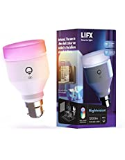 LIFX Nightvision A60 1200 lumens [B22 Bayonet Cap], Full Colour with Infrared, Wi-Fi Smart LED Light Bulb, No Bridge Required, Compatible with Alexa, Hey Google, HomeKit and Siri.
