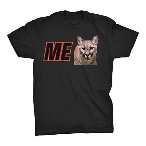ME Cougar Sponsor - I Wanna Go Fast Funny T-shirt,Black,3X-Large -