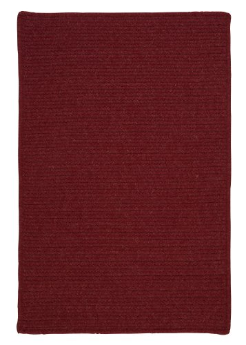 Courtyard Rectangle Area Rug, 2 by 3-Feet, (Colonial Mills Courtyard Sangria)