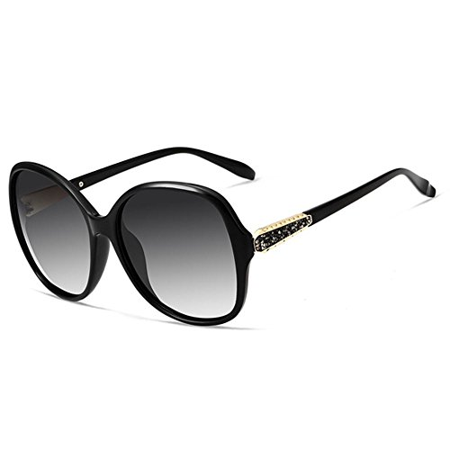 Polarizadas De Uv400 Sol Fiesta Lentes Limotai Con Tr90 Gafas Solgafas Púrpura Ocio Para Compras Viajar Gafas Mujer Negro Senderismo FqnWRvgn