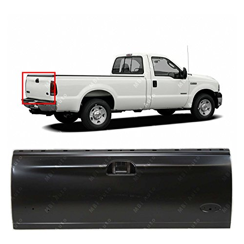 (MBI AUTO - Primered Steel, Tailgate Shell for 1997-2003 Ford F150 1999-2007 F250 F350 F450 F550 Super Duty Styleside, FO1900113 )