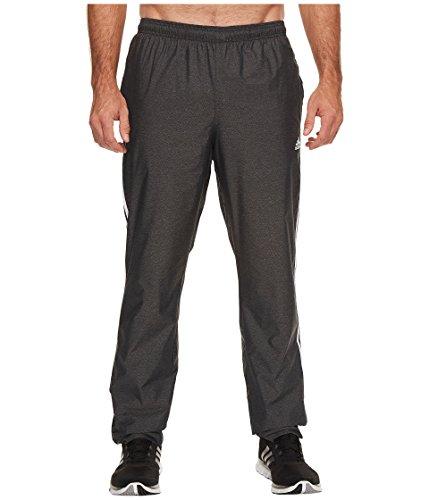 adidas Men's Big &Tall Essentials 3S Wind Pants Black/White XX - Large 32 Tall