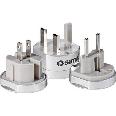 International Compact Travel Power Plug Set