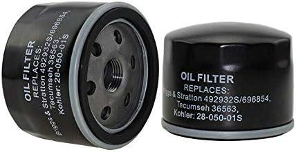 Vogueing Tool Rasenmäher Öl 2 Stück Ölfilter Passend Für Filter Ersatz Für Briggs Stratton 696854 492932s Baumarkt