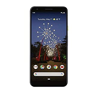 Google Pixel 3a Just Black 64GB for Verizon (Renewed)
