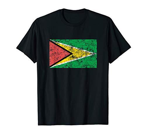 Guyana Flag Guyanese Pride T-Shirt