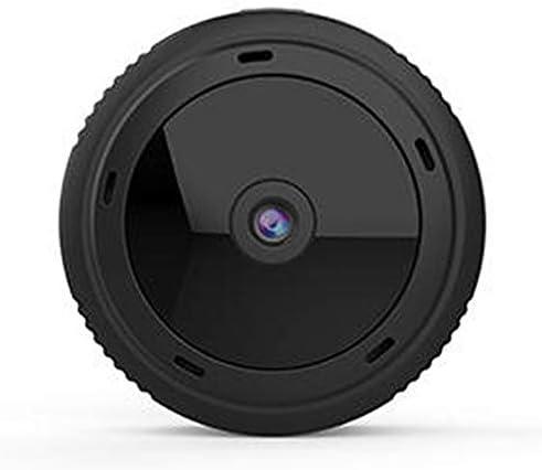 スポーツカメラ ナイトビジョンカメラホームAPPコントロールミニHD 1080PワイヤレスWiFi IPスポーツカメラ 使用可能 多数バイクや自転車や車に取り付け可能 (Color : Black, Size : One size)