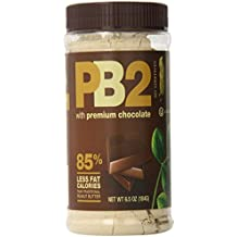 Bell Plantation PB2 Powdered Peanut Butter with Chocolate, 6.5 ounce (Pack of 2)