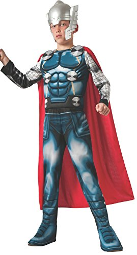 Marvel Universe Avengers Assemble Thor Deluxe Costume, (Hollywood Party Outfits)