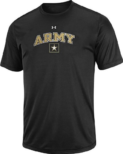 Army Black Knights Poly Dry HeatGear NuTech Performance Shirt by Under Armour (M=40)