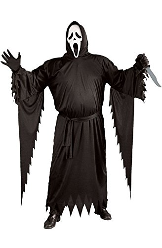 [Mememall Fashion Ghost Face Plus Size Halloween Costume] (Madonna Costume Plus Size)