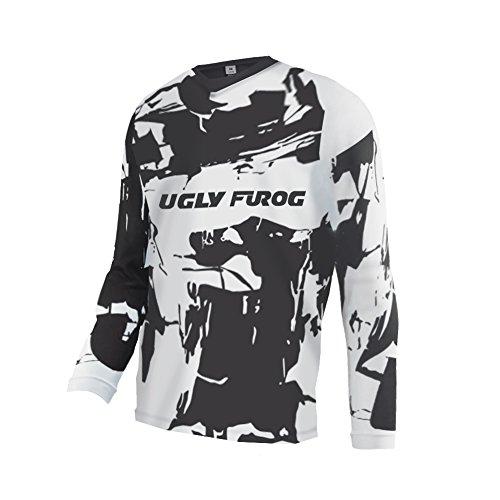 21a89e568db Uglyfrog Downhill Jersey Motorbikes Protective Clothing Long Sleeve Winter  Fleece Warm Cycling Retro Bike Shirt SJFZR16