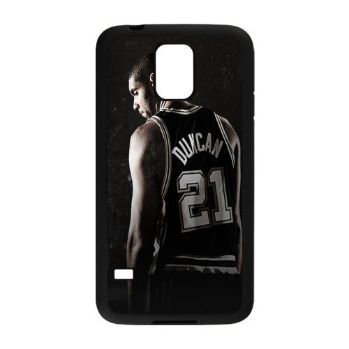 San Antonio Spurs 3 Custom Phone Case Design for Samsung Galaxy S5 covers with Balck Laser Technology