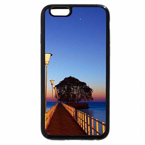 iPhone 6S / iPhone 6 Case (Black) gorgeous sunrise pier