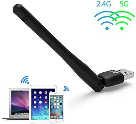 Wavlink AC600 Adaptador Antena Wifi USB Dual Banda (2.4G+5G ...