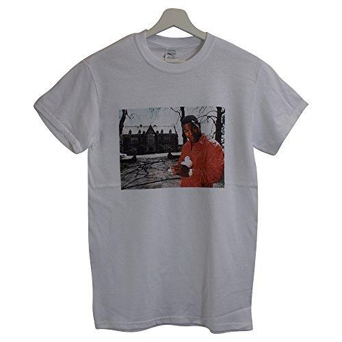 Vintage s o Camiseta Dinamita Tyson blanca Boxeo Xxl Realidad Ni Dove qxSf4EB