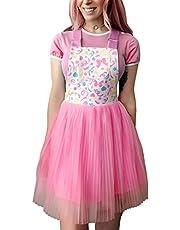 LittleForBig Overall Skirt Romper - Confetti Princess Overall Skirt