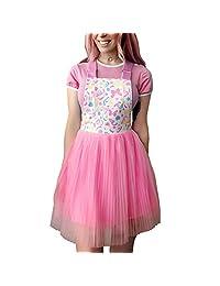 Littleforbig Overall Skirt Romper – Confetti Princess Overall Skirt