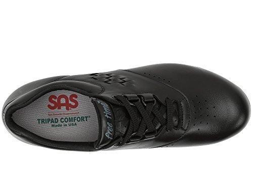 SAS Women's Freetime Comfort Shoe Black 7.5WW