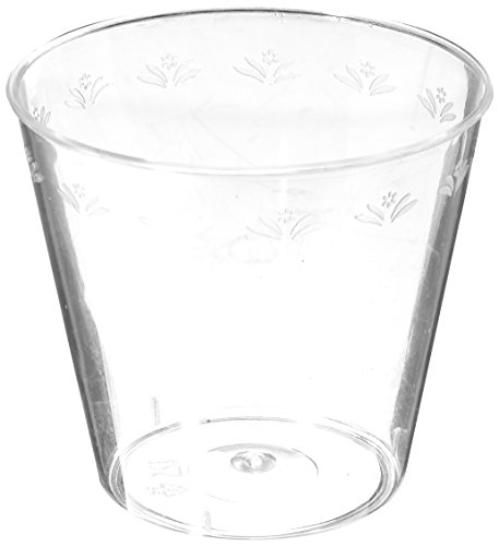 50 Count Plastic Shot Glass, 1 oz, Clear