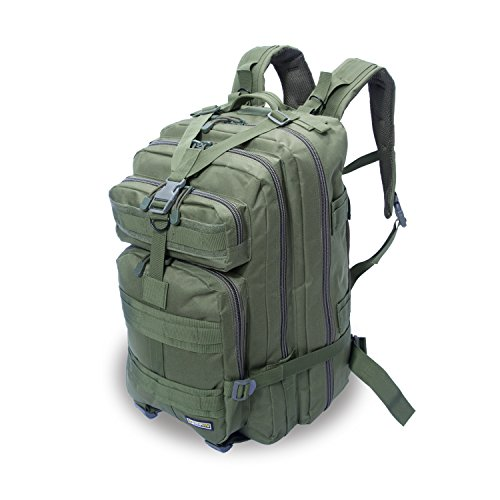 Eyourlife Military Tactical Backpack Small Rucksacks Hiking Bag Outdoor Trekking Camping Tactical Molle Pack Men Tactical Combat Travel Bag 20L 20l Backpack