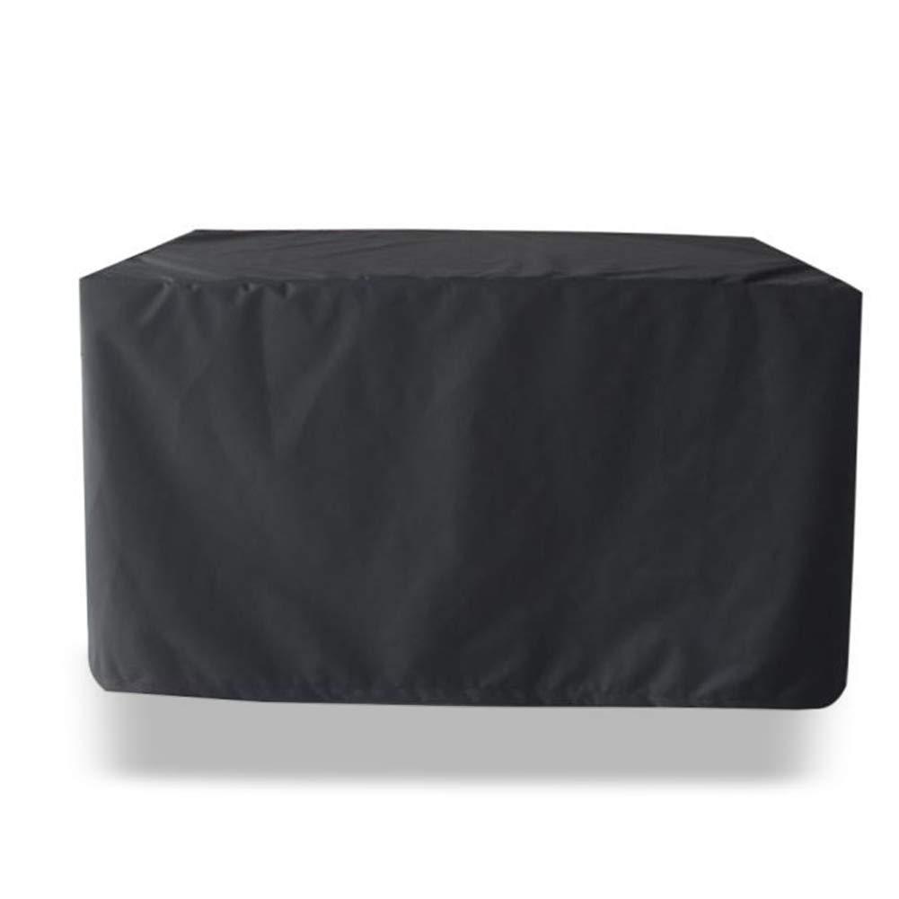 negro 100x60x150cm Ljdgr GRW-Tarpaulin Mesa y Silla de Muebles de ratán de jardín Mesa y Silla, tamaño 3 Colors 20, Personalizable (Color  gris, tamaño  50x50x50cm) Suministros de jardinería