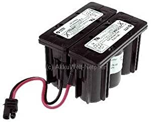 Hawker Cyclon Enersys D Cell 2 x 3 12 V 2,5 A 0819 - 0024 ...