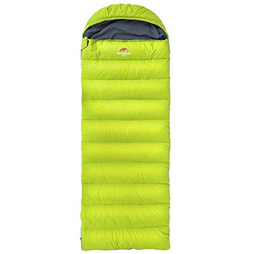 画面モートポーク寝袋 暖かい ポータブル 封筒 ポータブル 一人 通気性の寝袋 ワイルド に適して アウトドアキャンプ