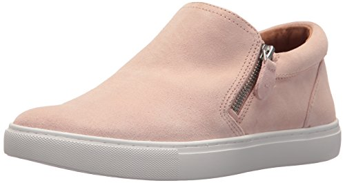 Gentle Souls Womens GS02078SU Lowe Double Zip Low Profile Sneaker Rose