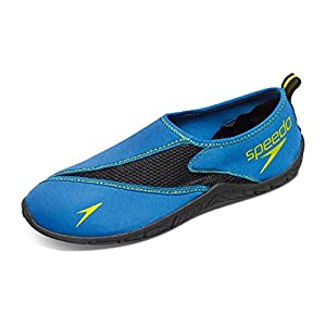 Speedo Men's Surfwalker Pro 3.0 Water Shoes Blue 10 & Sunscreen