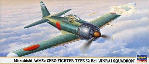 Fighter Zero A6m5c - HAS-00628 1/72 Mits A6M5c Zero Fighter Type 52 Hei