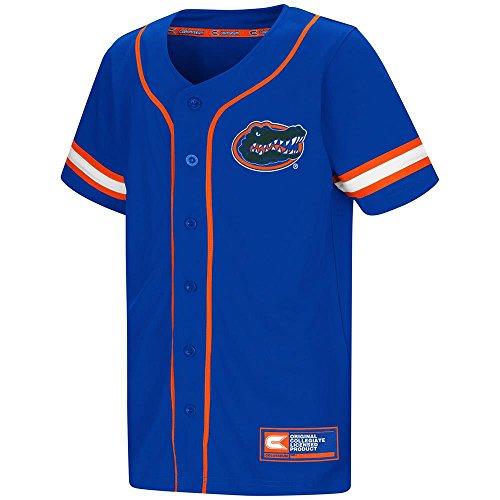 Colosseum Youth Florida Gators Baseball Jersey - L