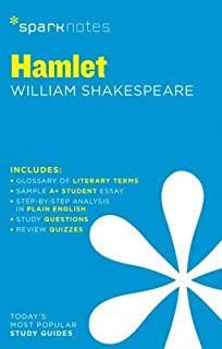 com hamlet critical essays shakespeare criticism  hamlet by william shakespeare sparknotes literature guide by sparknotes editors 2014 paperback
