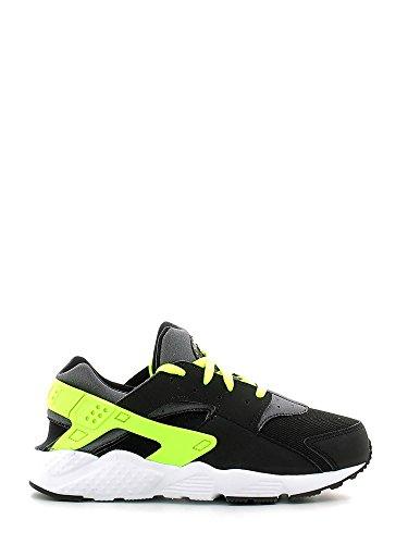 Nike 704949-017, Zapatillas Para Niños Negro (Black / Volt / Dark Grey / White)