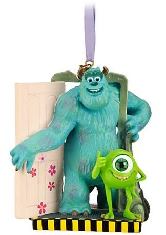 1 X Disney/Pixar Limited Edition Monsters, Inc. Sulley and Mike Sketchbook Ornament]()