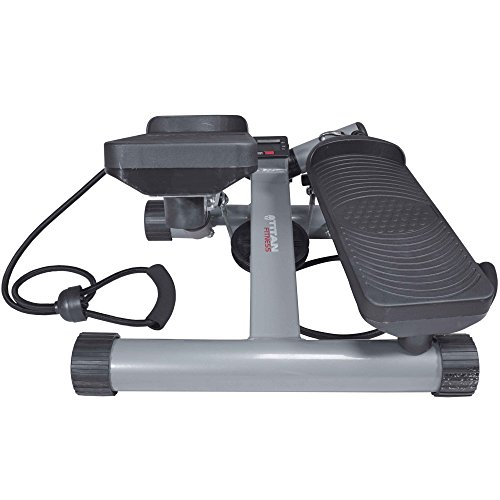Titan Fitness Twister Stepper Step Machine With Resistance Bands