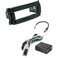 Chrysler Dodge Jeep Single Din Dash Kit for Radio Stereo Install Installation XSVI-6502-NAV Bus Car Stereo/Radio Replacement Wiring Interface
