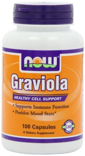 GRAVIOLA 500MG 100CAPS by Now