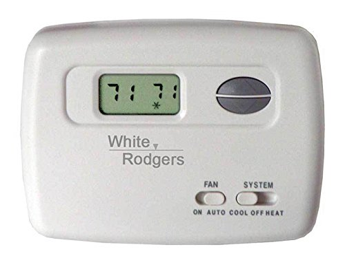 - White Rodgers 1F78-144 70-Series Single Stage NonProgrammable Digital Thermostat