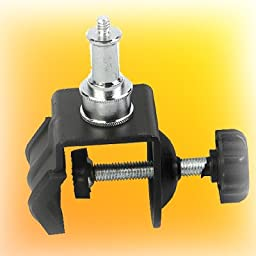 ePhoto SA35D 5/8-Inch Stud Super C Clamp for Studio Light Support System, Monolight Mount or Studio Light Stands