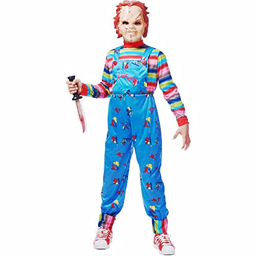 HalloCostume Boys Chucky Costume, Halloween Kids' Boys' Costumes