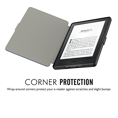 Taslar( Shell Protective PU Leather Magnet Lock Flip Case for All-New Kindle E-reader,6
