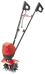 Mantis 7250-00-03  Corded Electric Tiller Cultivator  with Touch-Start – Push-Button Instant Start, Powerful, Compact and Lightweight, Quiet, Easy-to-Use, No-Emissions – Built to be Durable and Dependable