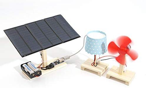 Yeshai3369 Kit de lámpara Solar para Mesa de Ventilador de Mesa de ...