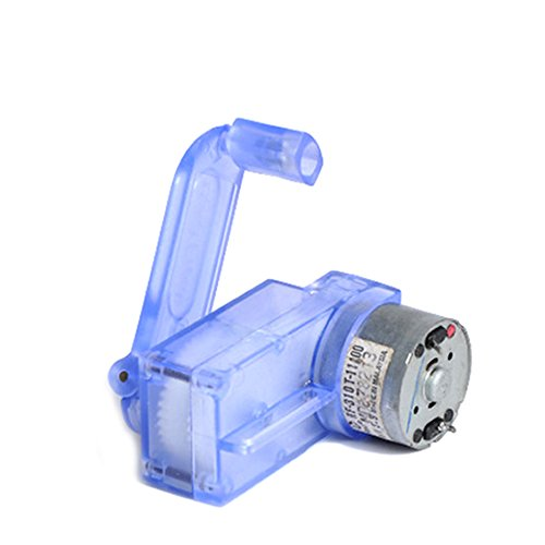 - 6V Hand Crank Dynamo Generator DIY Mechanical Motor Reduction Gear Box
