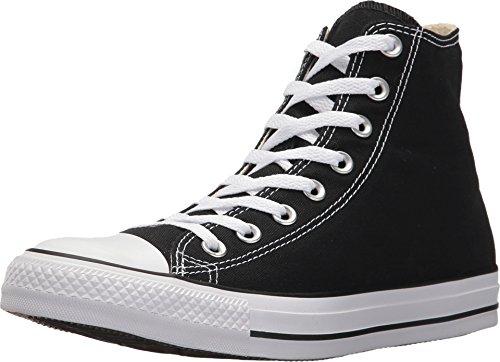 Converse Chuck Taylor All Star Hi Metallic Sneaker (Mens 10/Womens 12, Gunmetal) (Silver Mens Sneakers)